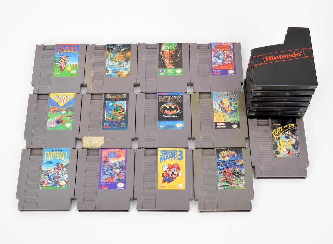 Nintendo Entertainment System, Games & Controllers - 5