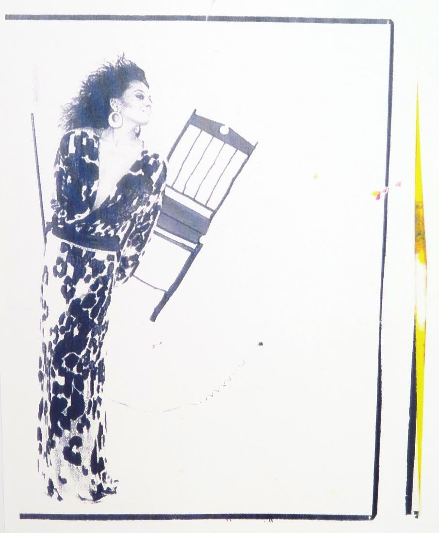 Michaele Vollbracht Drawing- Liz Taylor, Original Work - 3