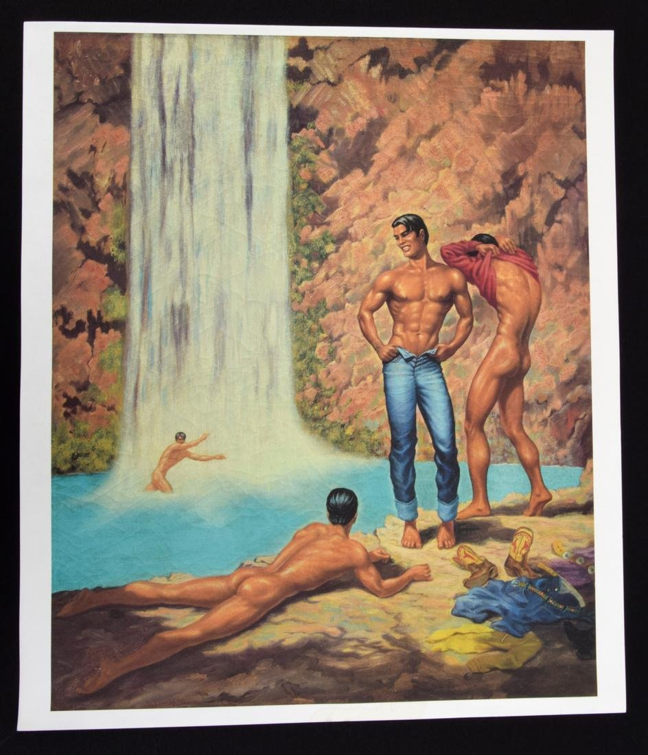 George Quaintance Erotic Prints, Set of 7 - 6