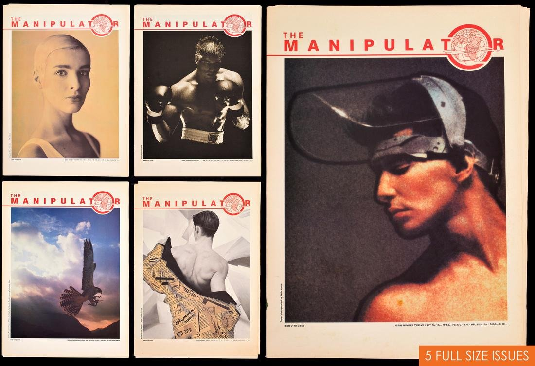 THE MANIPULATOR Magazines, Collection of 5