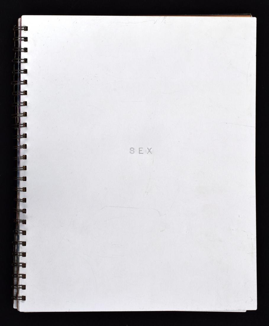 Madonna SEX Book - 9