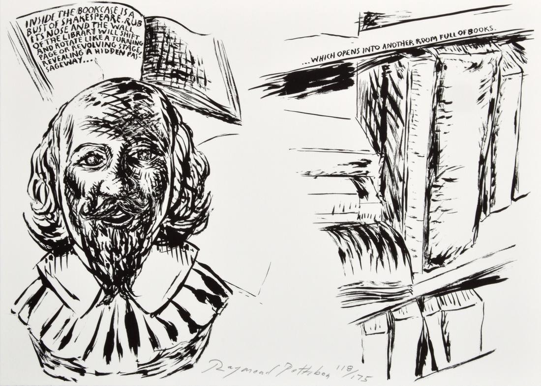 Raymond Pettibon Lithograph, Signed Edition