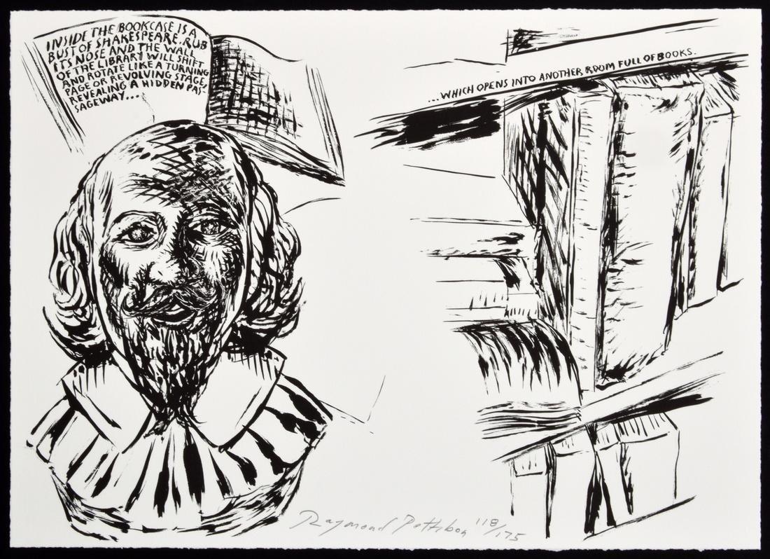 Raymond Pettibon Lithograph, Signed Edition - 2