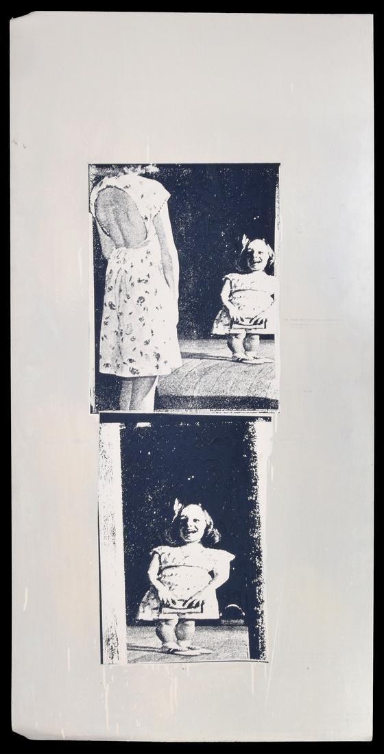 Massive Marilyn Minter Screenprint, Signed