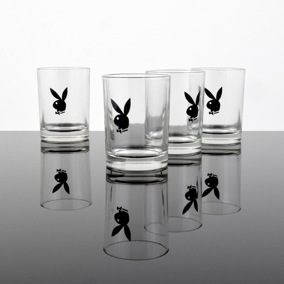 Playboy D.O.F. Glasses, Set of 4