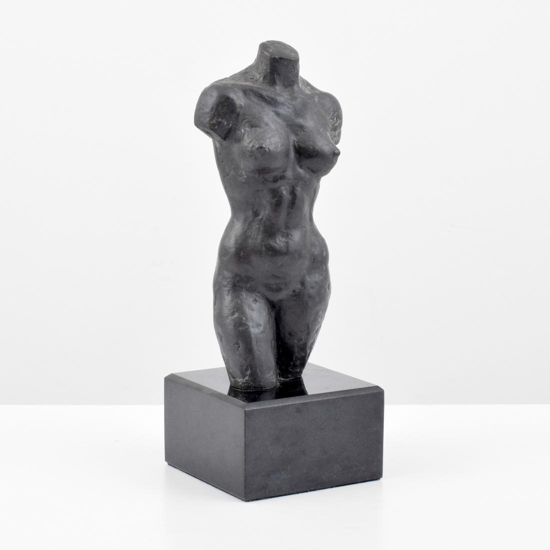 Farrah Fawcett Figural Bronze Sculpture