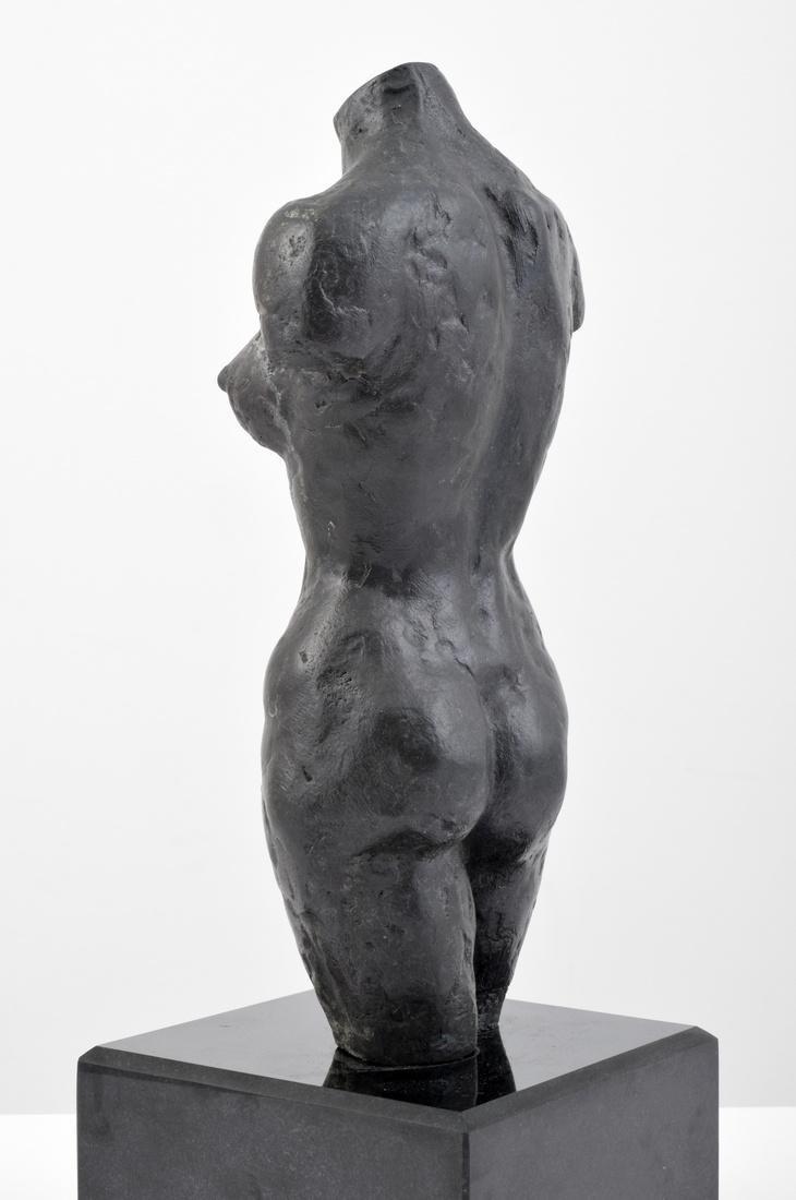 Farrah Fawcett Figural Bronze Sculpture - 4