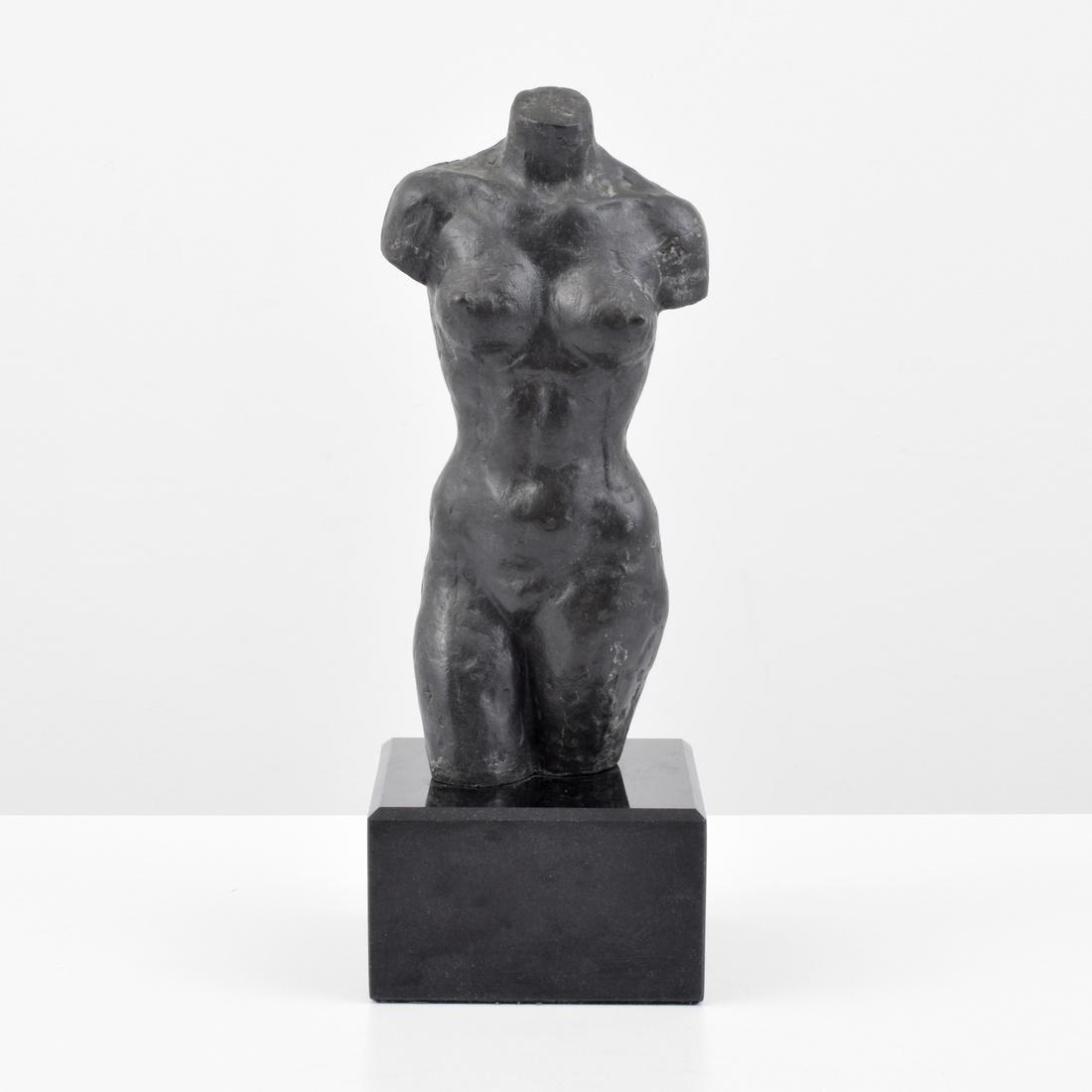 Farrah Fawcett Figural Bronze Sculpture - 6