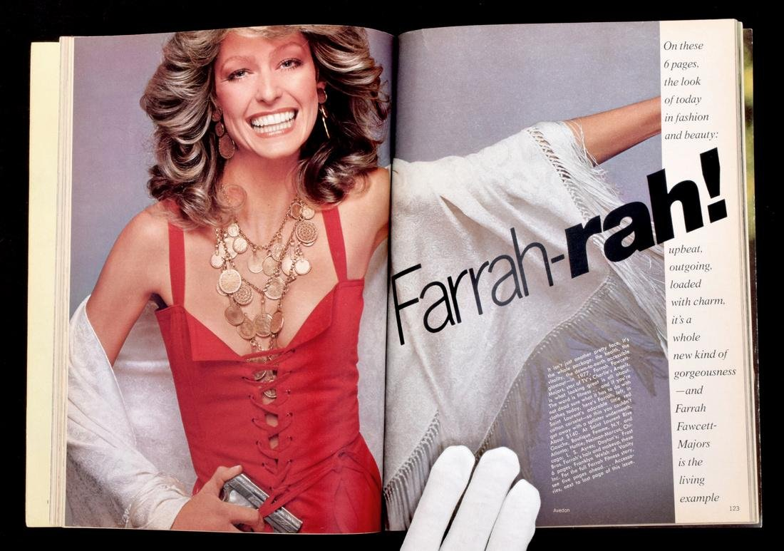 Farrah Fawcett Personal Vogue with Mailing Label - 2