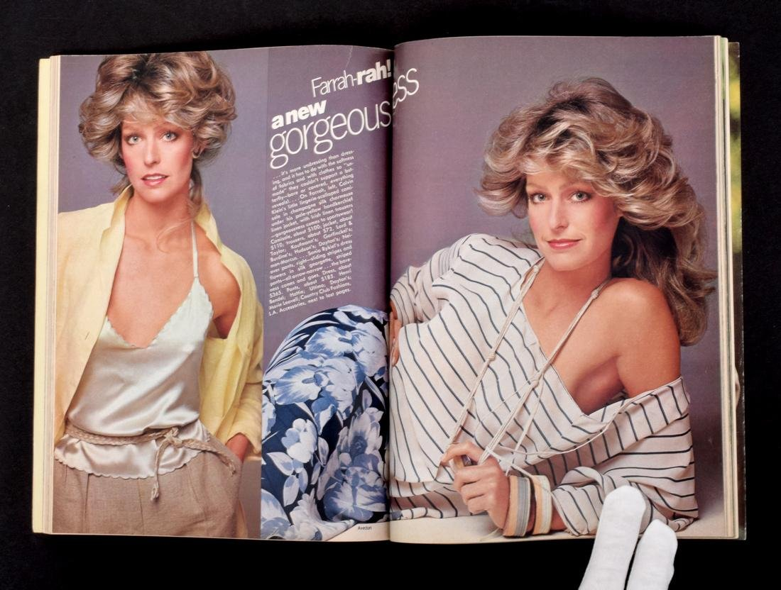 Farrah Fawcett Personal Vogue with Mailing Label - 3