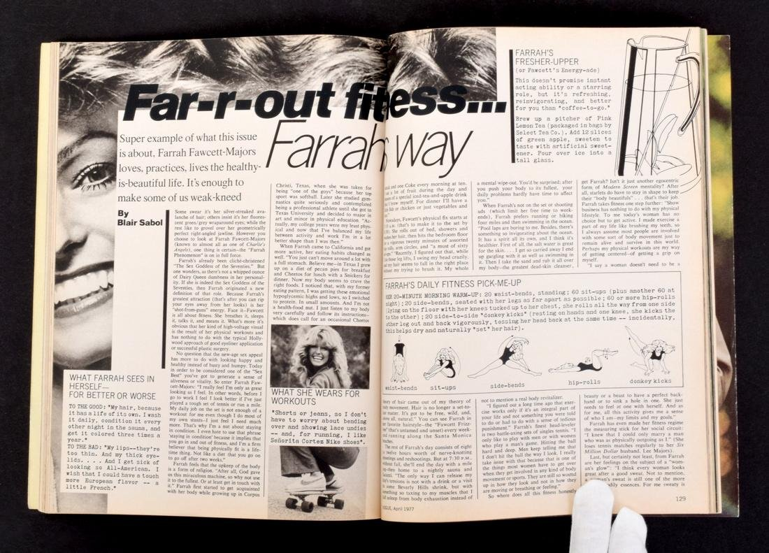 Farrah Fawcett Personal Vogue with Mailing Label - 4