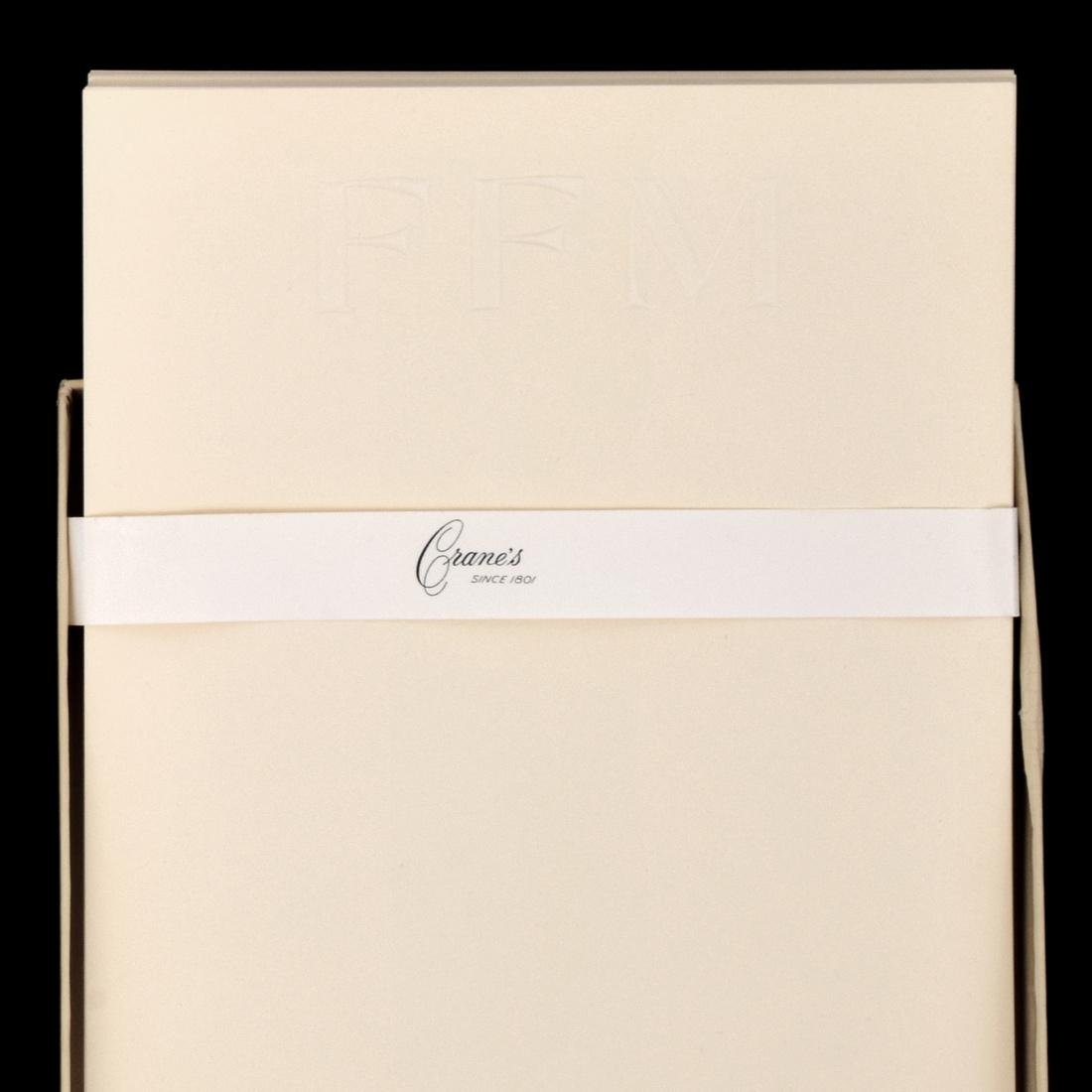 Farrah Fawcett Personal Monogrammed Stationery - 2