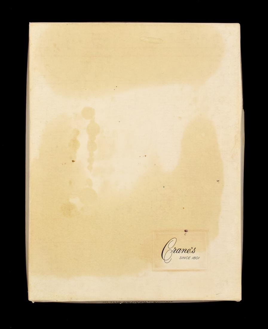 Farrah Fawcett Personal Monogrammed Stationery - 4