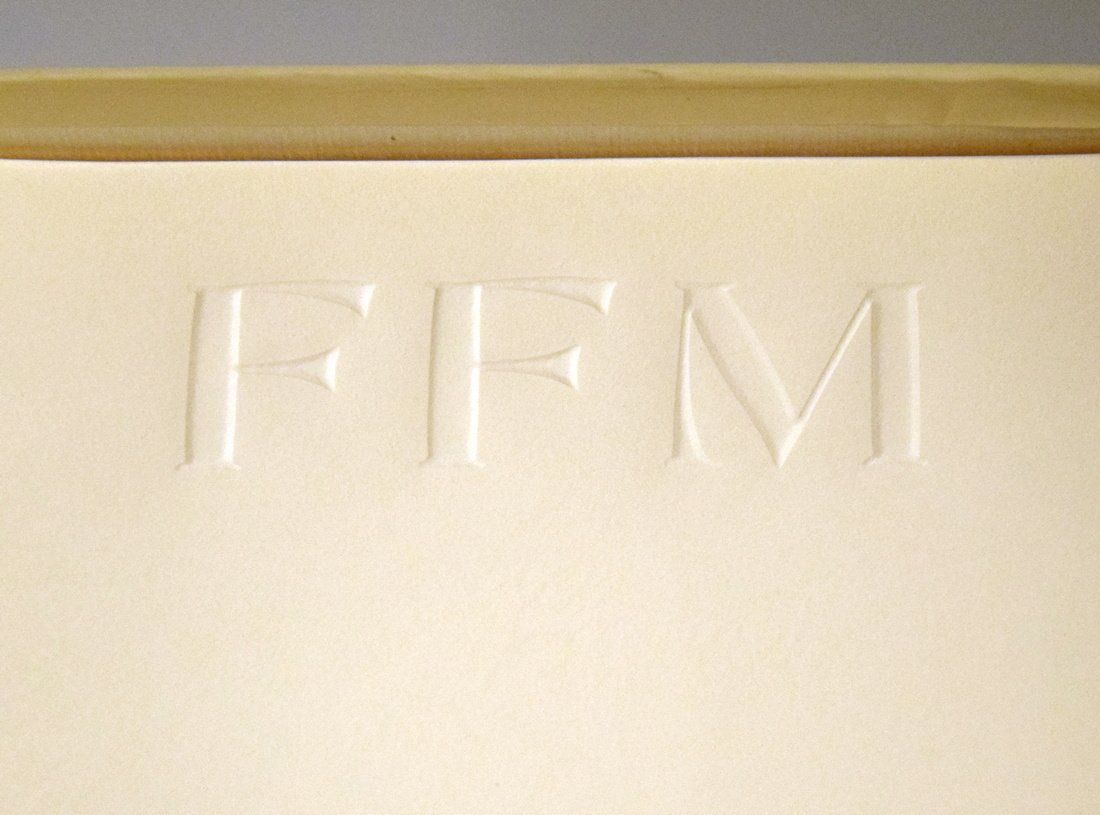 Farrah Fawcett Personal Monogrammed Stationery - 5