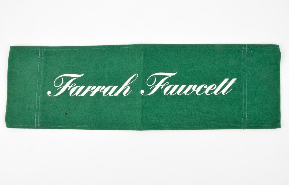 Farrah Fawcett Directors Chair Canvas Back
