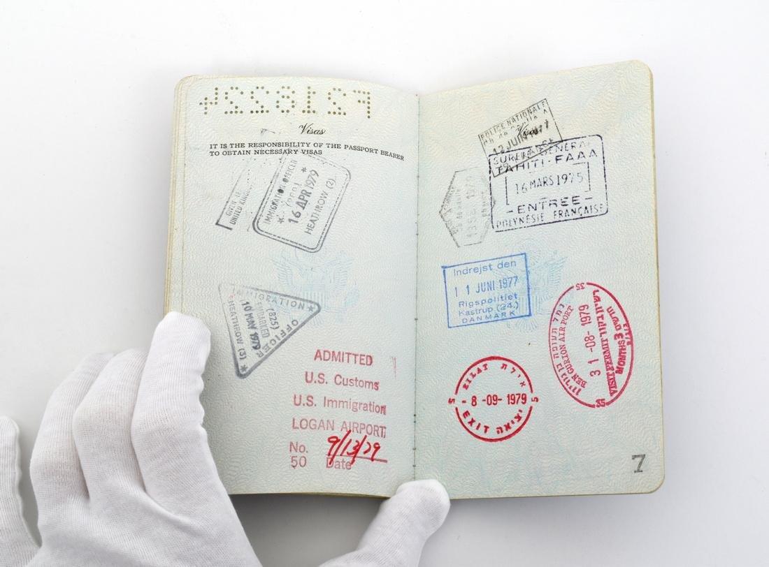 Farrah Fawcett Personal Passport - 2