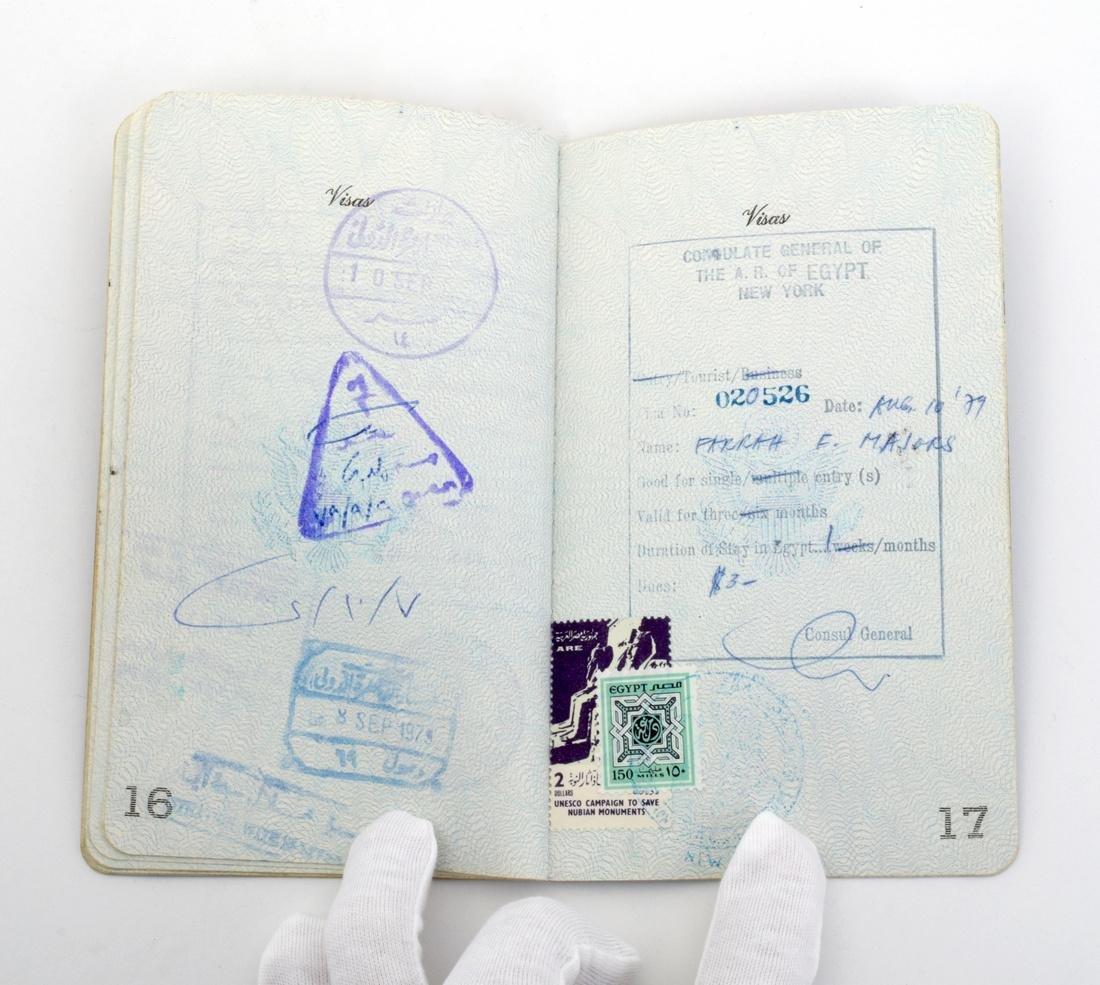 Farrah Fawcett Personal Passport - 4