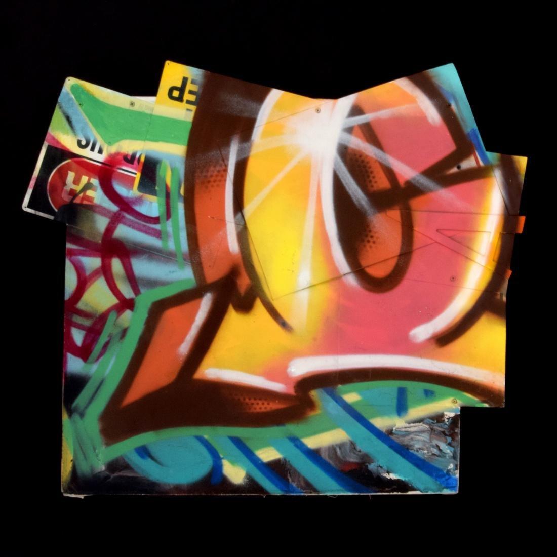 Crash (John Matos) Mixed Media Painting
