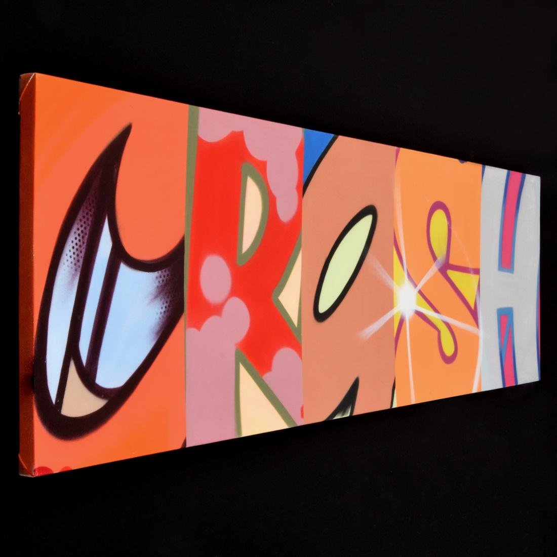 Crash (John Matos) Painting, Original Work