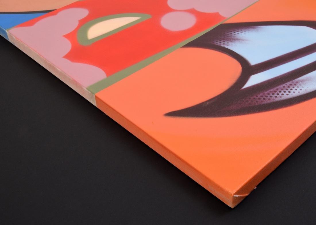 Crash (John Matos) Painting, Original Work - 3