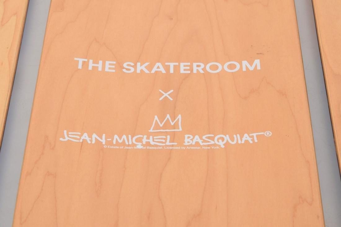 3 Jean-Michel Basquiat (after) Skateboard Decks - 5