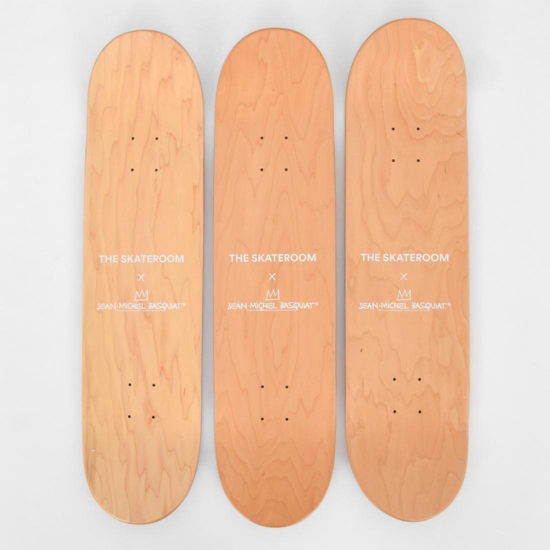 3 Jean-Michel Basquiat (after) Skateboard Decks - 6