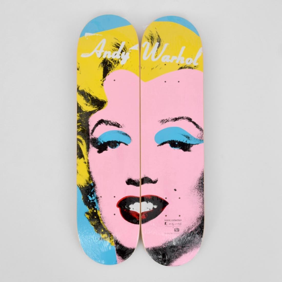 2 Andy Warhol (after) MARILYN Skateboard Decks