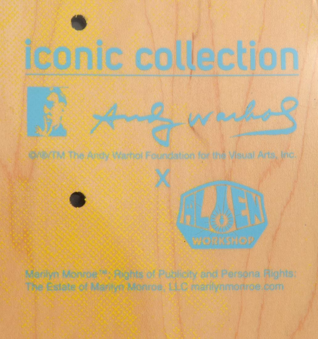 2 Andy Warhol (after) MARILYN Skateboard Decks - 3