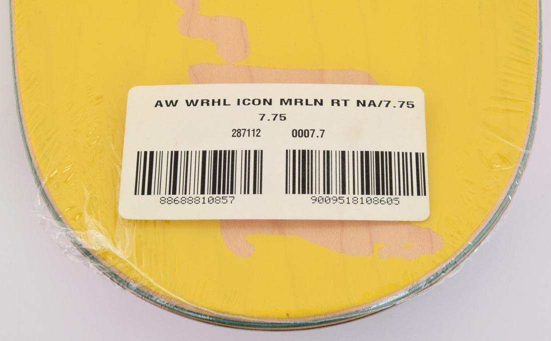 2 Andy Warhol (after) MARILYN Skateboard Decks - 4