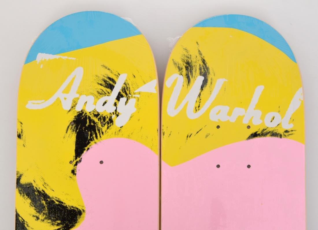 2 Andy Warhol (after) MARILYN Skateboard Decks - 7