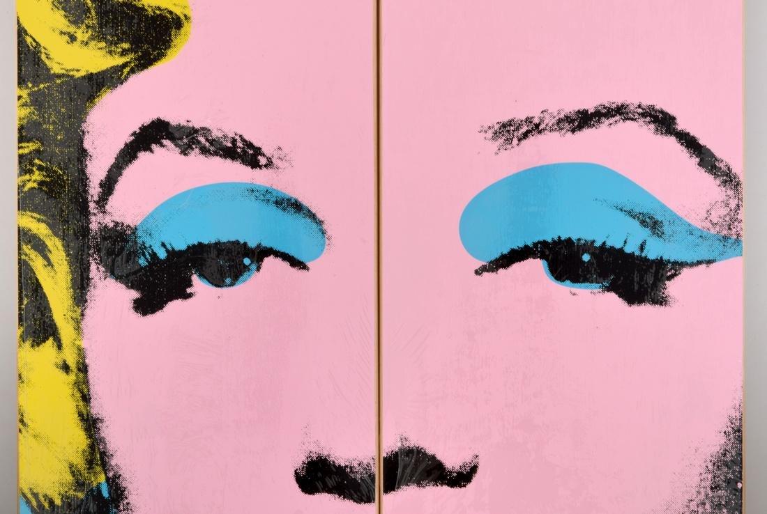 2 Andy Warhol (after) MARILYN Skateboard Decks - 8