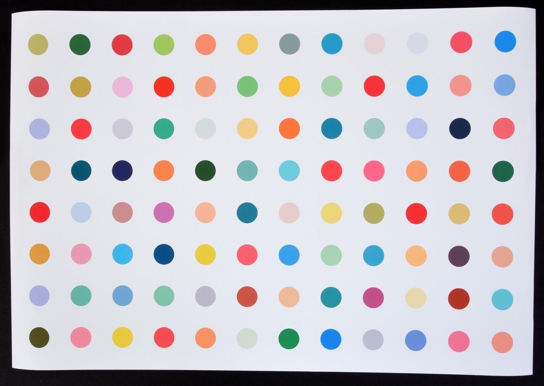 Colorful Polka Dot Print, Manner of Damien Hirst - 3