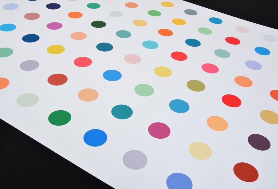 Colorful Polka Dot Print, Manner of Damien Hirst - 4