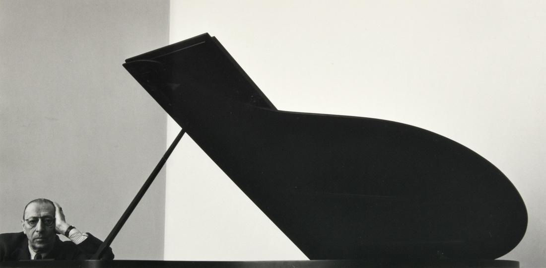Arnold Newman IGOR STRAVINSKY Photograph