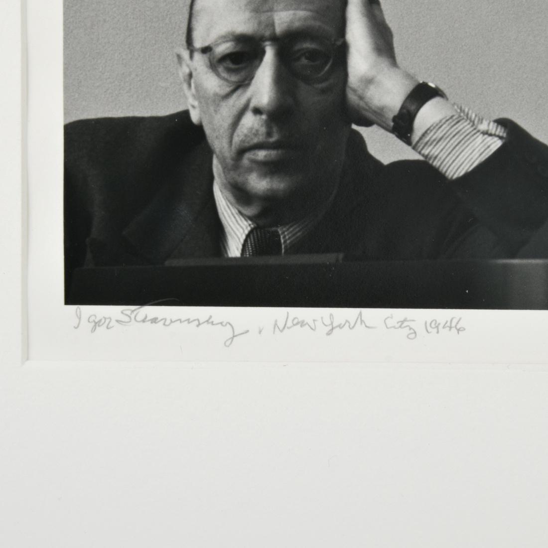 Arnold Newman IGOR STRAVINSKY Photograph - 2