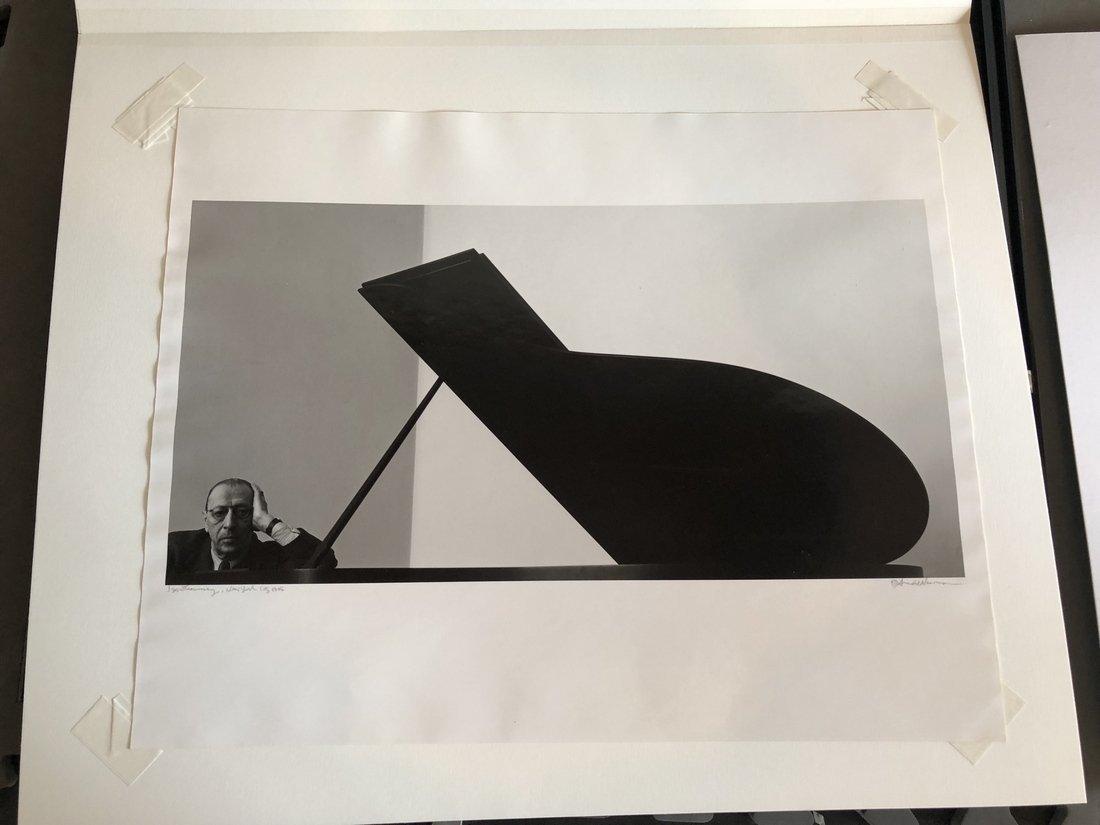 Arnold Newman IGOR STRAVINSKY Photograph - 6