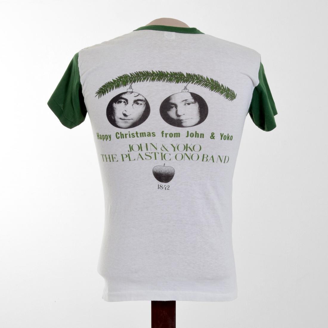 John Lennon/Yoko Ono-Designed Rare T-Shirt & 2 Books - 2