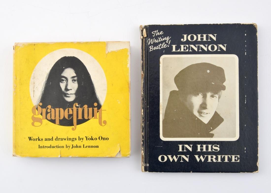 John Lennon/Yoko Ono-Designed Rare T-Shirt & 2 Books - 4