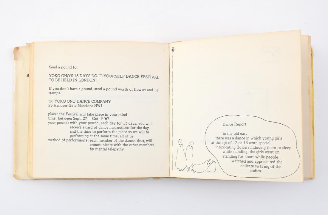 John Lennon/Yoko Ono-Designed Rare T-Shirt & 2 Books - 5
