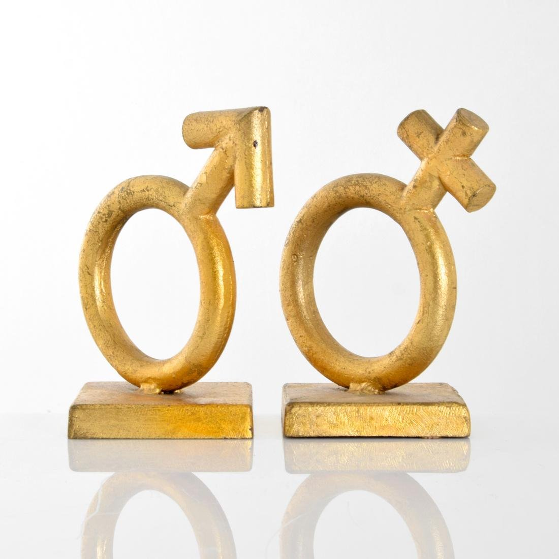 Curtis Jere THE SEXES Bookends/Sculptures - 4
