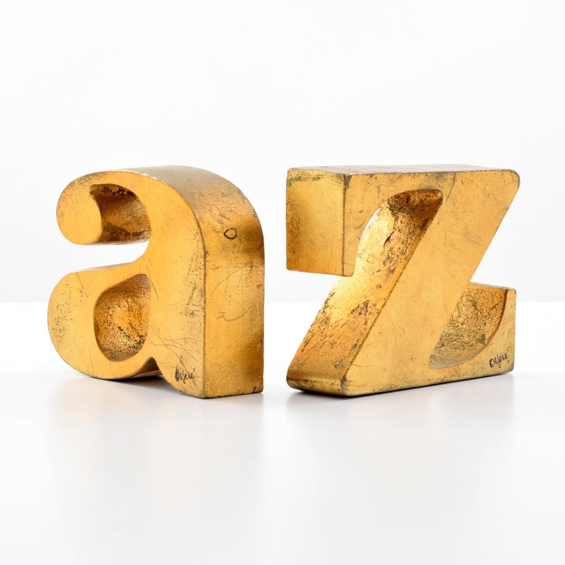 Curtis Jere A-Z Bookends/Sculptures - 4