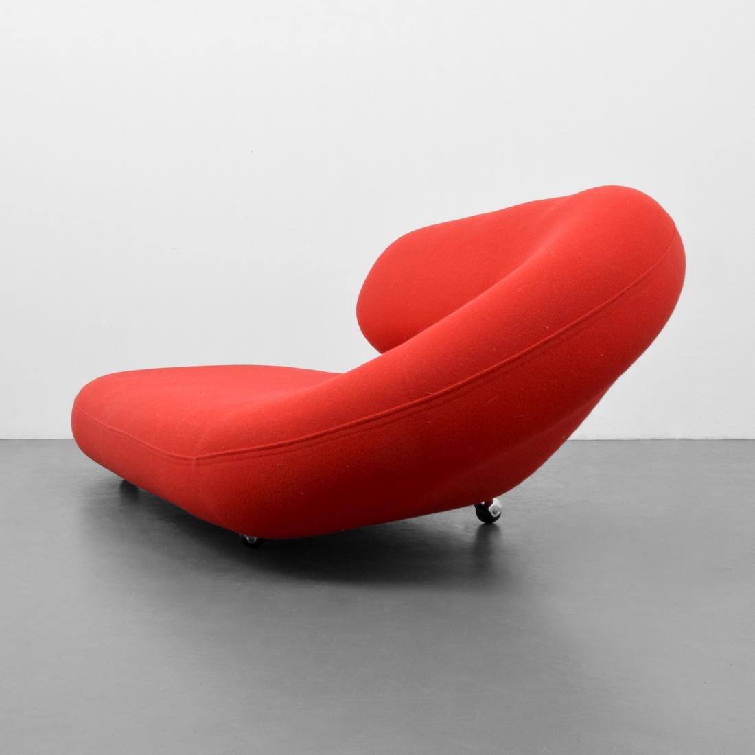 Geoffrey Harcourt CLEOPATRA Lounge Chair - 5