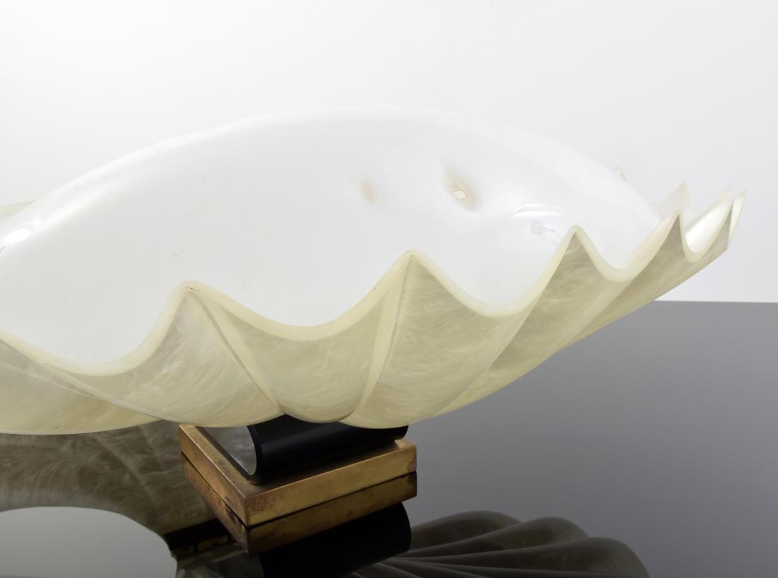 Large Rougier Clam Lamp - 5