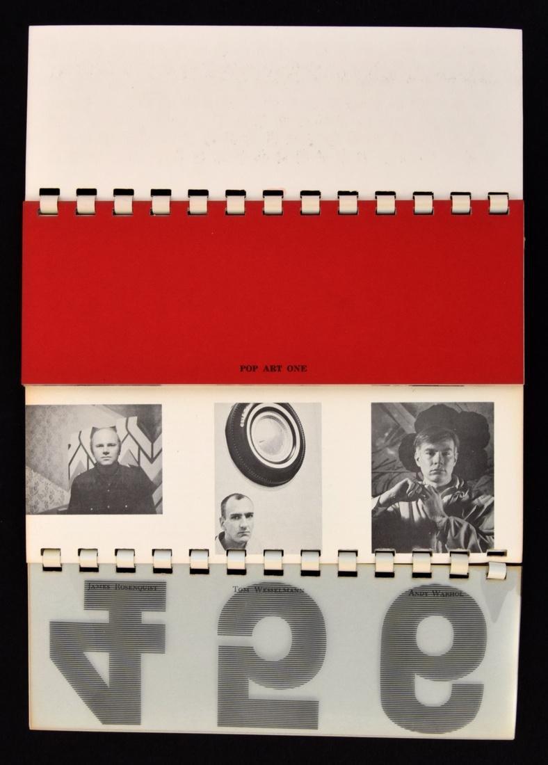 POP ART ONE Fold Out Book/Portfolio - 2