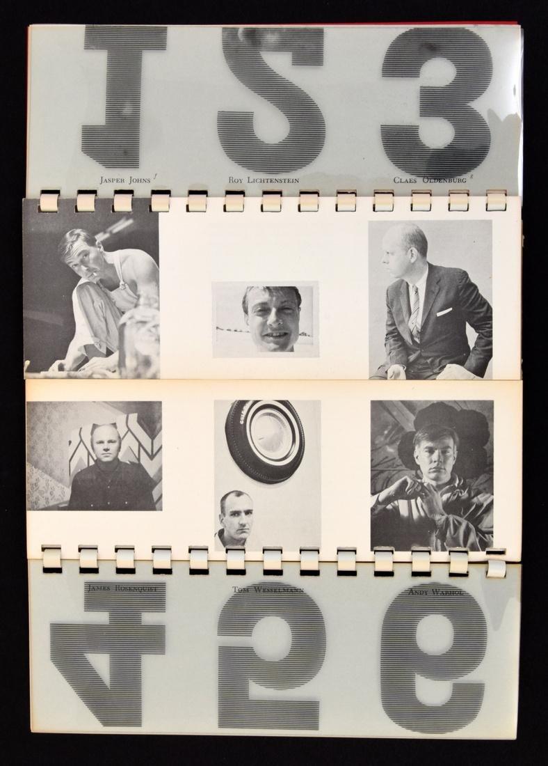 POP ART ONE Fold Out Book/Portfolio - 3