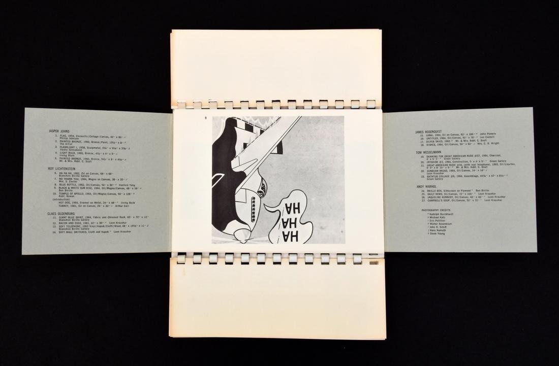 POP ART ONE Fold Out Book/Portfolio - 4