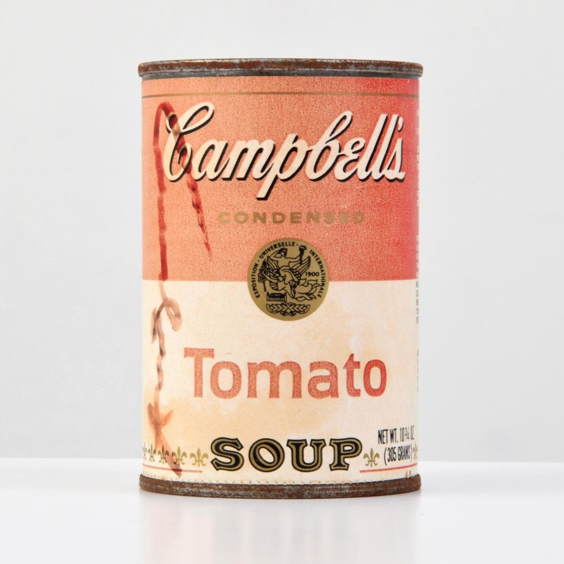 Campbell's Tomato Soup Can, Signed Andy Warhol