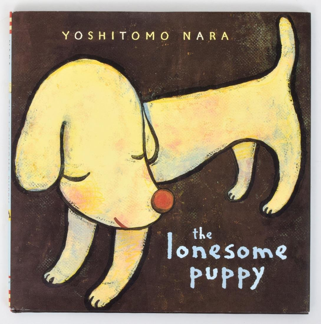 Yoshitomo Nara THE LONESOME PUPPY Book