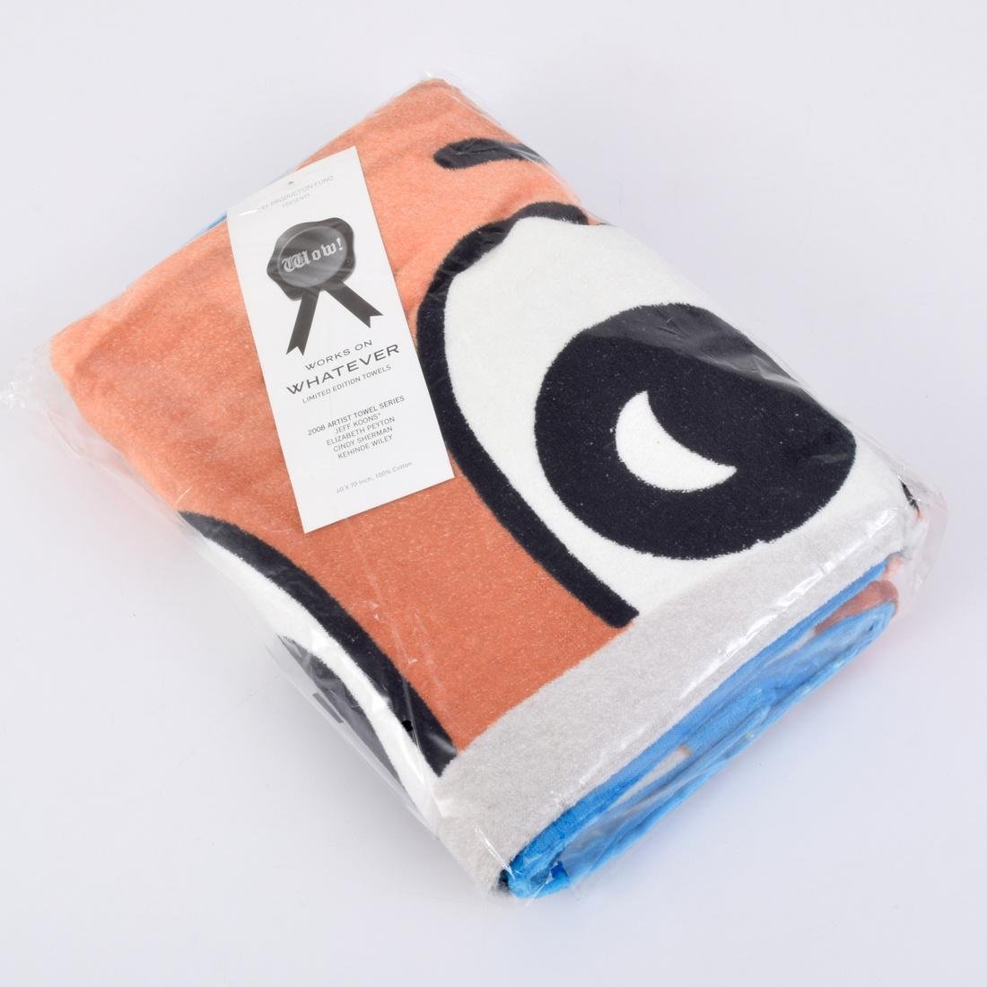 Jeff Koons MONKEY TRAIN Towel