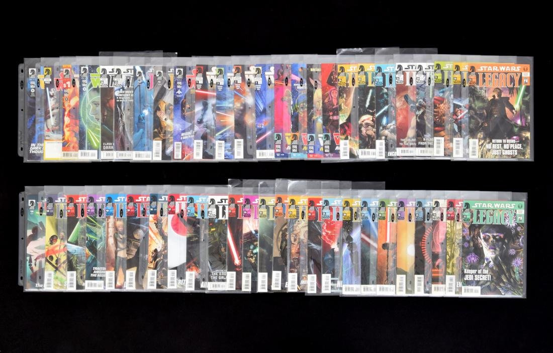 STAR WARS Comic Books & Cassette, Lot of 130+ Issues - 10